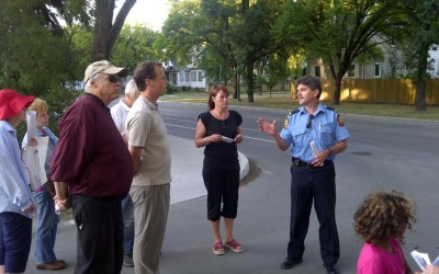 Community safety walk 2011