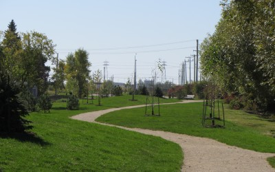 Example of Green space upgrade