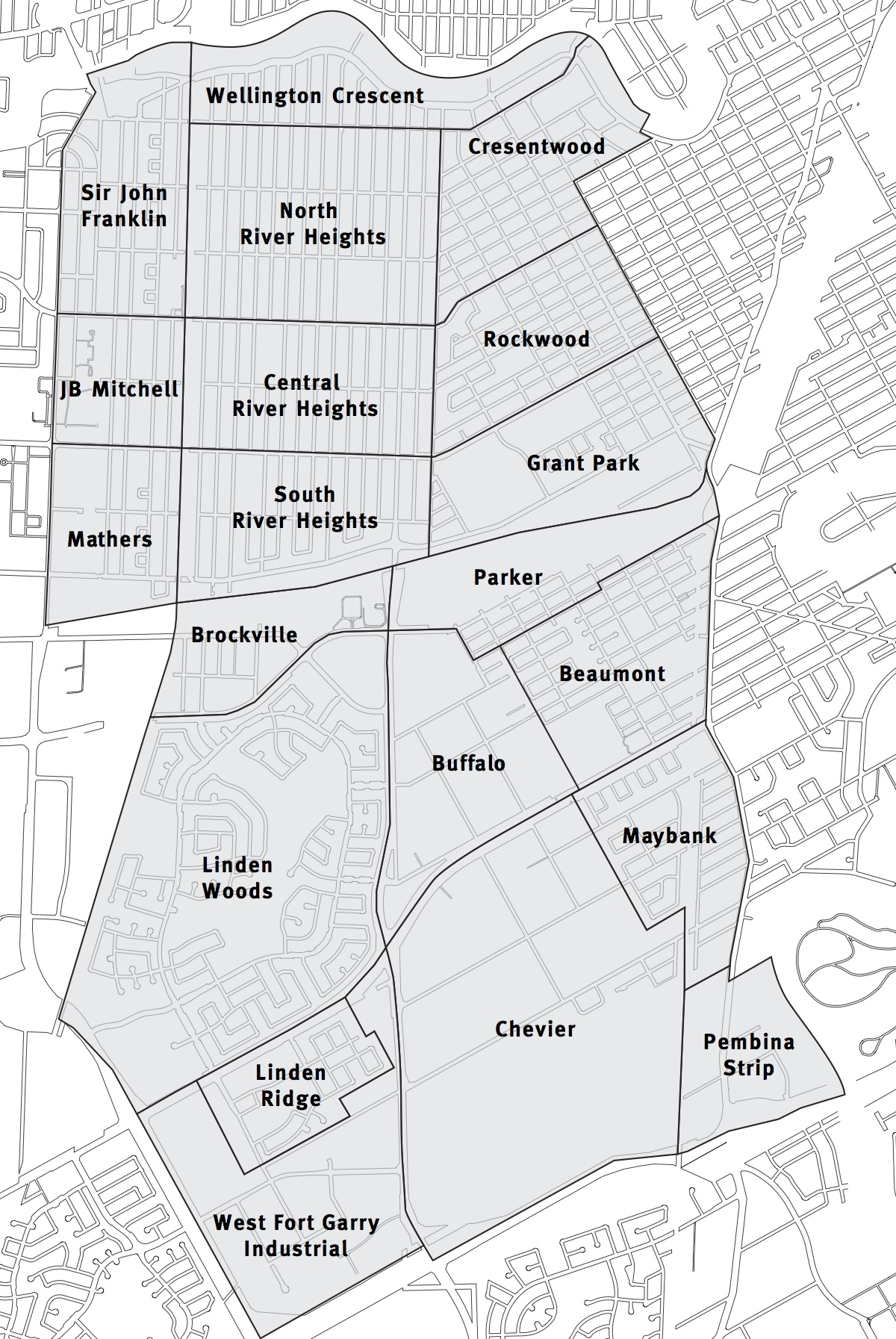 River Heights Ward Map